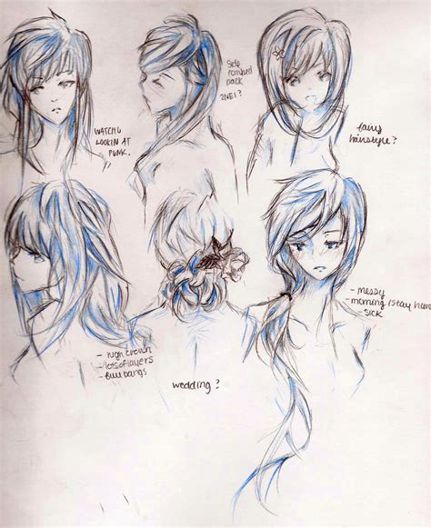 hairstyles of anime anime girl haircuts