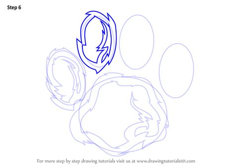 how to draw a paw learn how to draw a tiger paw animals for step by step drawing tutorials