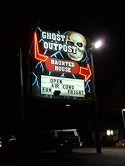 haunted house wisconsin dells ghost out post haunted house wisconsin dells haunted attractions on waymarking com