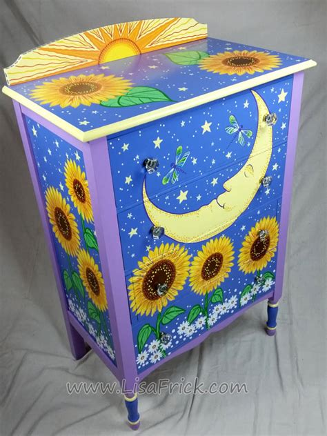 Handmade Painted Furniture - sold sle of custom work vintage dresser custom