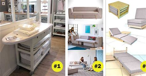 make space in your home 13 space saving tricks for small 13 exles of multifunctional furniture that not only