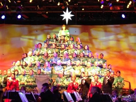 epcot s candlelight processional is pitch perfect