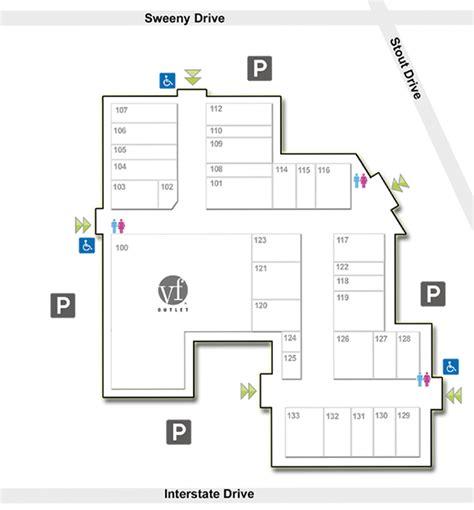 hanes mall map directory map crossvilleoutletcenter