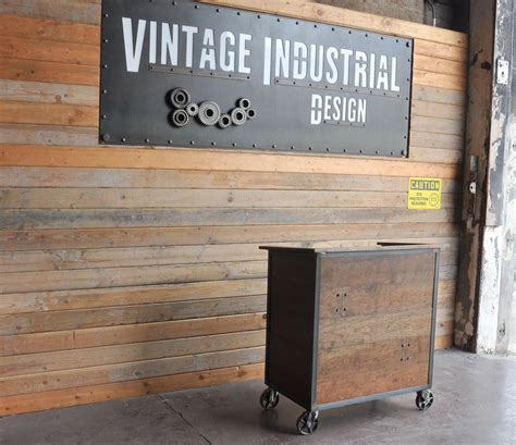 karl hostess stand vintage industrial furniture