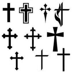 plain cross tattoo picture of tattoos polyvore