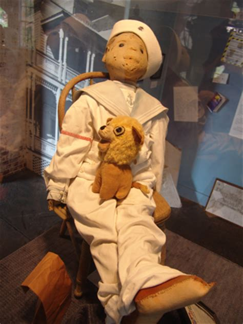 haunted doll in key west the who flew away