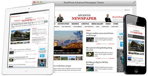 newspaper theme gallery fantastic newspaper theme for wordpress gallery