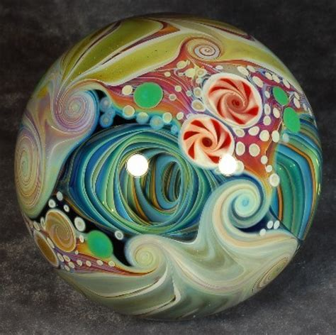 handmade marble masterpiece by mike gong marbles galore