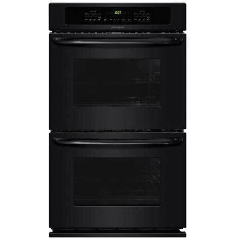 double oven cabinet lowes shop frigidaire self cleaning double electric wall oven