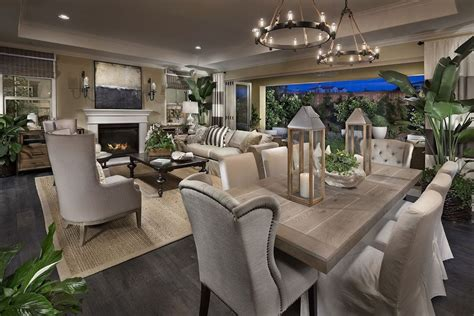 Open Floor Plans With Lots Of Windows by Traditional Great Room With Cement Fireplace Amp Wall Sconce