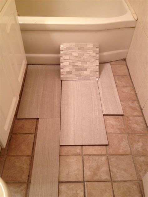 bathroom floor tile layout small bathroom tile choice and layout