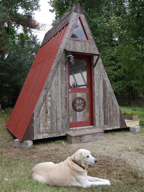 Small A Frame Cabin by Transforming A Frame Tiny House Swoon