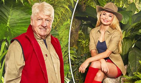 how is in celebrity jungle 2017 i m a celebrity 2017 stanley johnson can t take his eyes