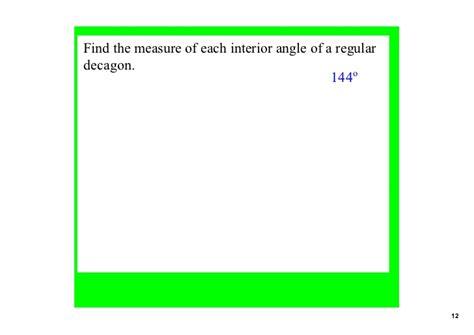 angles   polygons