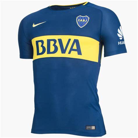 Jersey Boca Junior Home 17 18 boca juniors 17 18 home and away kits released footy headlines
