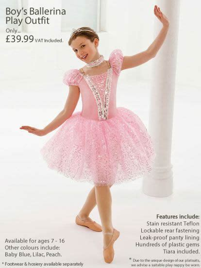 sissy ballet boys in dresses boy s ballerina play outfit pettiplay apparel gender