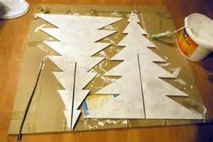 lila glitzereicheln und weihnachtsbaum adventskalender diy