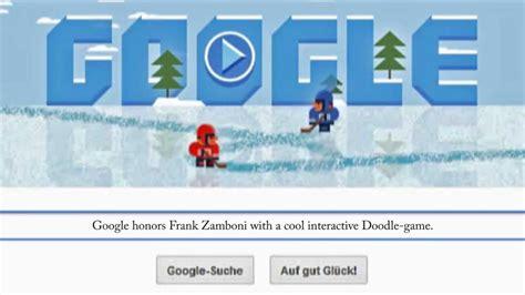 interactive doodle frank zamboni frank zamboni doodle