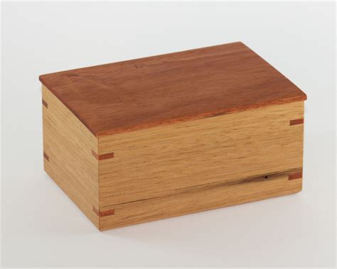 Handmade Wood Box - small wood box handmade from australian timbers the
