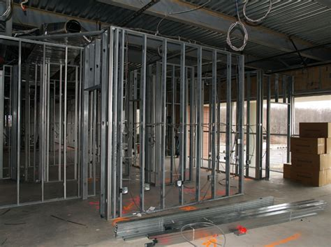 Interior Wall Framing Code by Sam Paul Drywall Inc Insulation Drywall Metal Studs