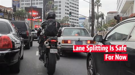 California Motorcycle Lawyer 2 by Anti Splitting Dies In California Senate Rideapart