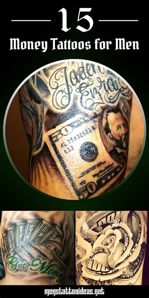 money tattoo designs for men money tattoos for dollar ideas for guys