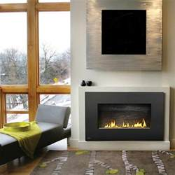 Modern Gas Fireplace Bloombety Modern Ventless Gas Fireplaces With Carpet