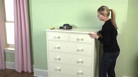 How To Secure A Dresser To The Wall by How To Secure Your Large Furniture To The Wall To Ensure
