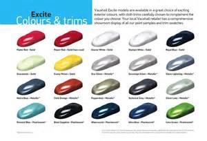 Vauxhall Zafira Colours Que Color Has Elegido En El Zafira