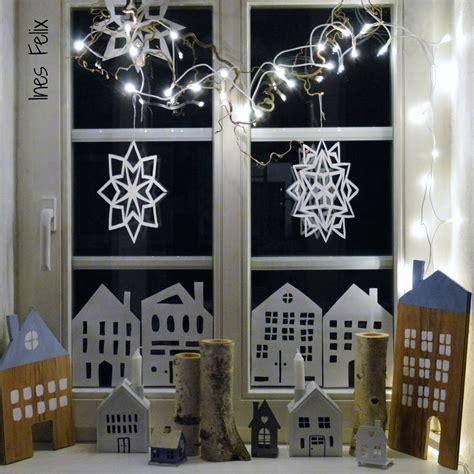 Fenster Deko Weihnachten Bilder by Ines Felix Kreatives Zum Nachmachen Winter Weihnachts