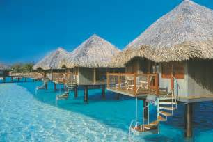 south pacific overwater bungalows tropical paradise on tahiti holidays new zealand travel