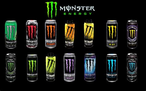 energy drink types energy
