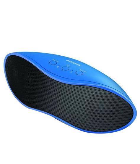 Speaker Bluetooth Philips philips bt4200a bluetooth speaker blue buy philips bt4200a bluetooth speaker blue