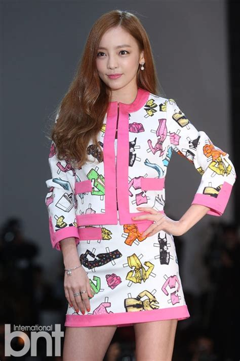 by sora ghim photo by jang moon sun the cast of popular cable drama bntnews bnt photo goo hara goes bold with print