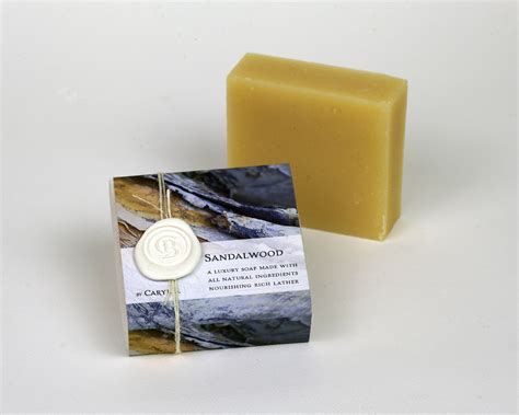 Handcrafted In Small Batches - handcrafted small batch soap sandalwood fragrance