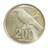 Uang Receh Rp200 Emisi 2003 Jalak Bali Uang Koin Buat Mahar Koleks uang kedaluwarsa seri koin rupiah