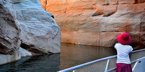 lake powell canyon boat tours wahweap marina lake powell az boat tours lake powell