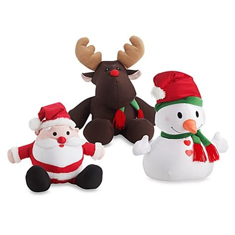 bed bath and beyond brentwood moshi christmas toss pillow characters by brentwood originals bed bath beyond