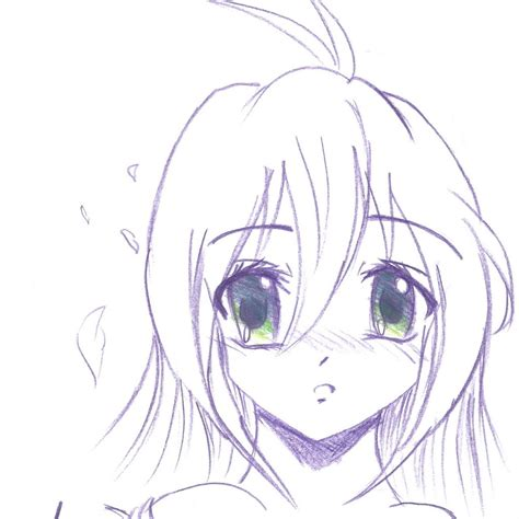 Anime Drawings Easy by Easy Anime Drawings In Pencil Chibi Drawing Artistic