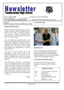 high school newspaper template 25 best ideas about school newsletter template on