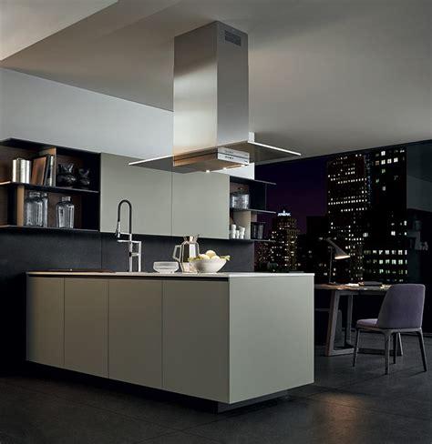Poliform Kitchen Design Lacquered Wooden Kitchen Alea By Varenna By Poliform Design Paolo Piva