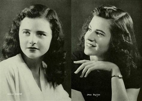 1940s Hairstyle by 1940s College Hairstyles Glamourdaze