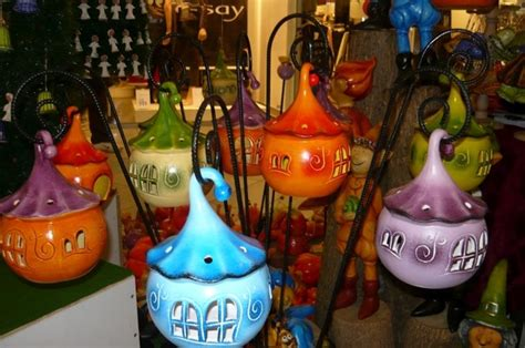 oggetti per giardino oggetti in ceramica decorazioni adorabili per il giardino