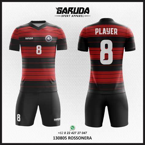desain jersey merah hitam desain jersey futsal terkeren yang wajib dimiliki garuda
