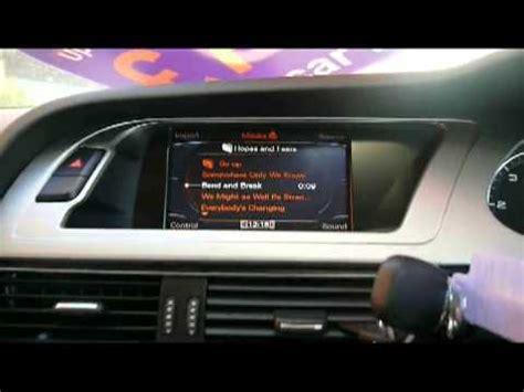 audi mmi jukebox audi mmi audi interface doovi