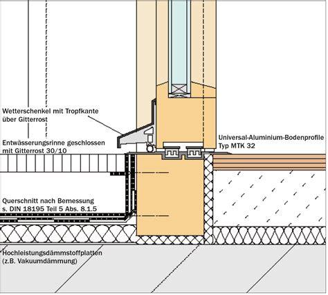 Terrasse Detail by Entw 228 Sserungsrinne Terrasse Detail Zimerfrei Id 233 Es
