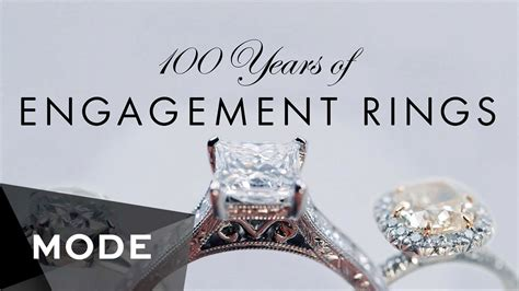 100 years of engagement rings glam com youtube