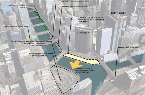 chicago riverwalk map chicago riverwalk management study camiros ltd