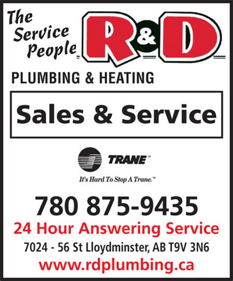 R D Plumbing by R D Plumbing Heating Ltd 7024 56 St Lloydminster Ab