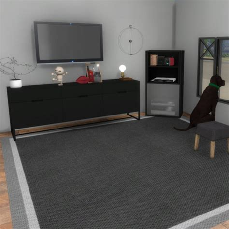 the sims 4 console leo 4 sims tv cabinet and console sims 4 downloads